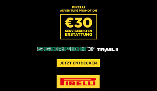 Pirelli SCORPION TRAIL II ADVENTURE PROMOTION: