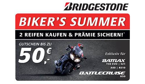 Bridgestone Bikers Summer